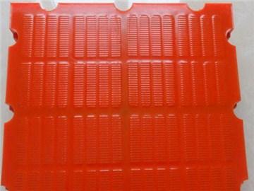 聚氨酯条缝筛